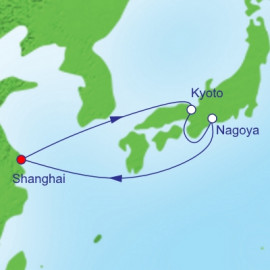 Osaka Overnight and Nagoya Itinerary