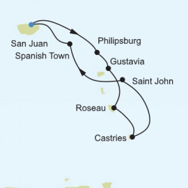 Caribbean and Central America Itinerary