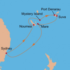 Pacific Islands Carnival Cruises Cruise