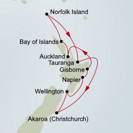 New Zealand and Beyond  Itinerary