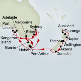 Australia and New Zealand Discovery Collector Itinerary