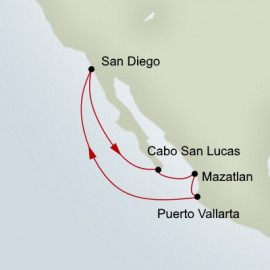 Mexican Riviera Itinerary