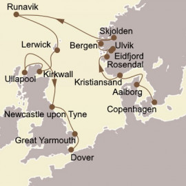 Norway and Northern Isles Itinerary