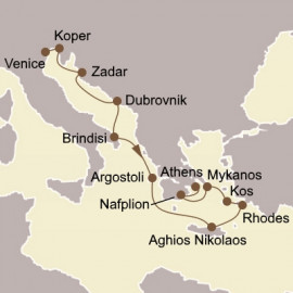 Adriatic and Greek Isles Itinerary