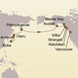 Kamchatka and the Kuroshio Route Itinerary