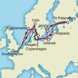 Baltic Explorer Itinerary