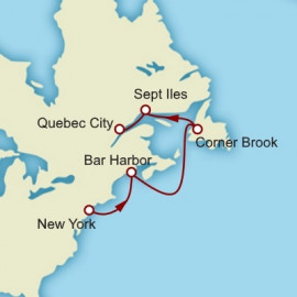 New England and Canada Cunard Cruise