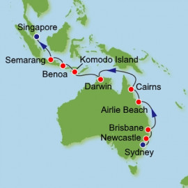 Australia and Southeast Asia Itinerary