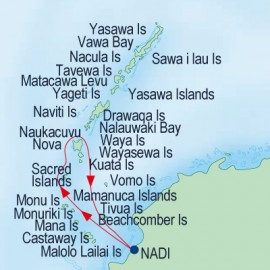 Mamanuca and SouthernYasawa Islands Itinerary