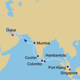 Sri Lanka and India Azamara Club Cruises Cruise