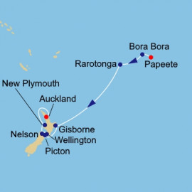 New Zealand Azamara Club Cruises Cruise
