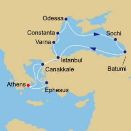 Black Sea Azamara Club Cruises Cruise