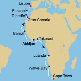Western Africa Journey Itinerary