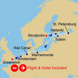 Fly Stay Baltic Capitals Azamara Club Cruises Cruise