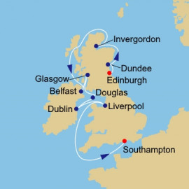 British Isles and Golf Azamara Club Cruises Cruise