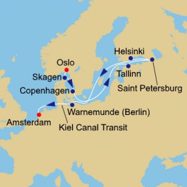 Baltic and St Pete Itinerary