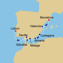 Spain Intenive Azamara Club Cruises Cruise