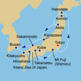 Circle Japan Intensive Itinerary