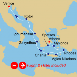 Fly Stay Greece Intensive Itinerary