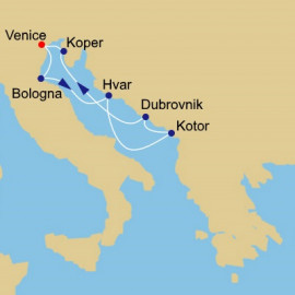 Adriatic and Wonders Itinerary