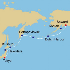 Alaska to Japan Itinerary