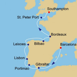 Western Europe Itinerary