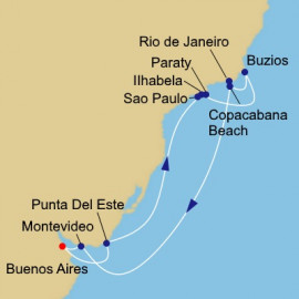 Christmas and New Year in South America Azamara Club Cruises Cruise