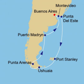 Argentina and Uruguay Itinerary