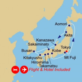 Fly Stay Circle Japan Azamara Club Cruises Cruise