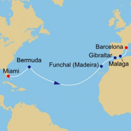 Atlantic Quest Azamara Club Cruises Cruise