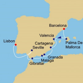 Spain Intensive Azamara Club Cruises Cruise