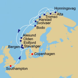 Norway Intensive and N Cape Azamara Club Cruises Cruise