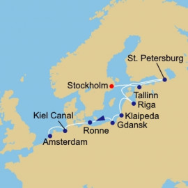 St Pete and Baltic States Azamara Club Cruises Cruise