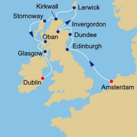 Scotland Intensive Azamara Club Cruises Cruise