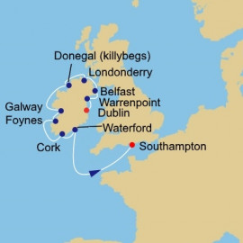Ireland Intensive Azamara Club Cruises Cruise