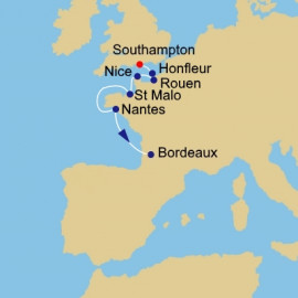France Intensive Azamara Club Cruises Cruise
