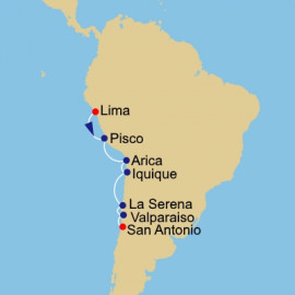 Peru and Chile Azamara Club Cruises Cruise