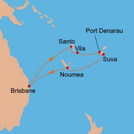 South Pacific Carnival Cruises Cruise