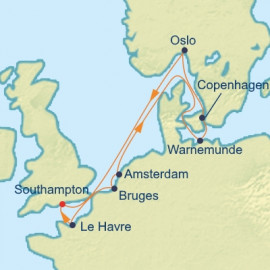 Northern Europe Capital Cities Celebrity Cruises Cruise