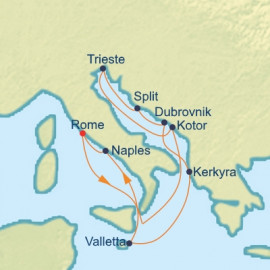 Italy Croatia and Montenegro Itinerary