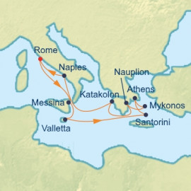 Italy Malta and Best Of Greece Celebrity Cruises Cruise