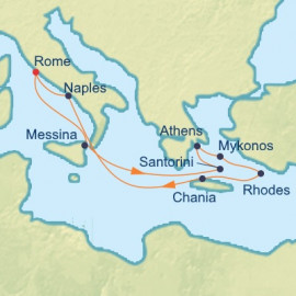 Italy and Best Of Greek Islands Celebrity Cruises Cruise