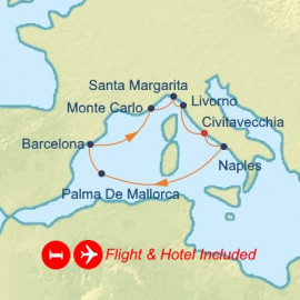 Fly Stay Western Mediterranean Celebrity Cruises Cruise