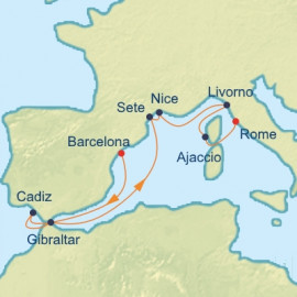 Spain France and Italy Celebrity Cruises Cruise