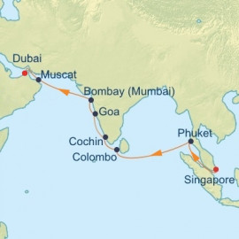 Best of India and Sri Lanka Celebrity Cruises Cruise