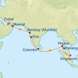 Best Of India and South East Asia Itinerary