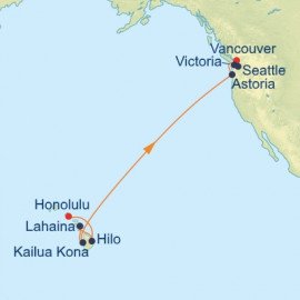 Hawaii and West Coast Celebrity Cruises Cruise