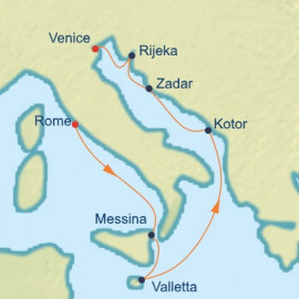 Italy Malta and Croatia Celebrity Cruises Cruise