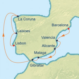 Best Of Spain and Portugal Celebrity Cruises Cruise
