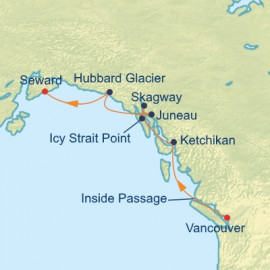 Alaska Northern Glacier Celebrity Cruises Cruise